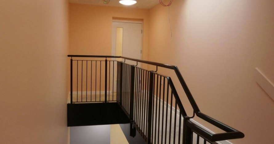 Kier developments staircase and rails
